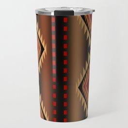 southwest stripe Travel Mug