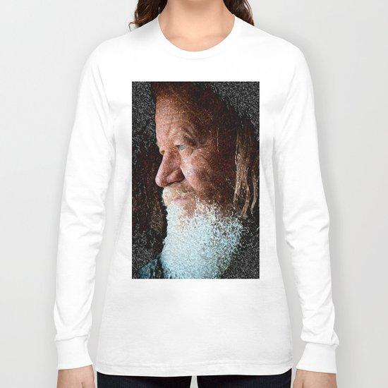 Old man blue eyes Long Sleeve T-shirt