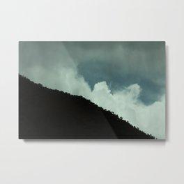 Cloud Breaks Metal Print