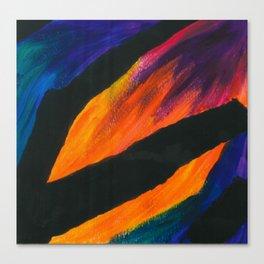 the battle.  Canvas Print