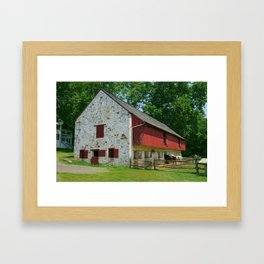 Farm Life Framed Art Print