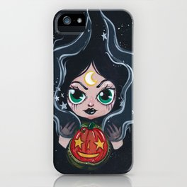 Witches Pumpkin  iPhone Case