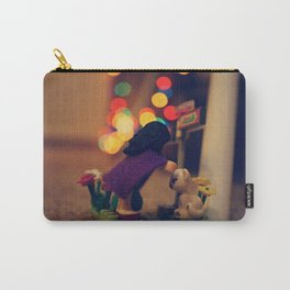 The Girl in the Purple Cloak Carry-All Pouch