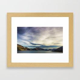 Road to Glenorchy Framed Art Print