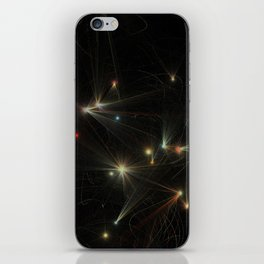 Mixed Space iPhone Skin