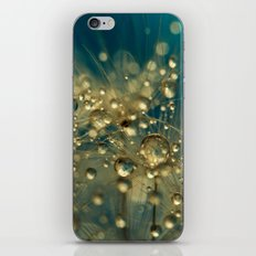 Firework Dandy in Blue iPhone & iPod Skin