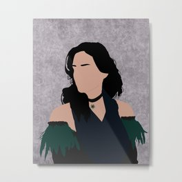 Yennefer of Vengerberg Metal Print