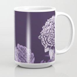 VIOLET FLORAL SYMPHONY Coffee Mug