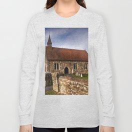 St Mary The Virgin Ebony Long Sleeve T-shirt