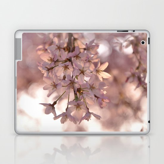 Cherry Blossom Spring Laptop & iPad Skin