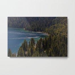 Emerald Bay State Park, South Lake Tahoe  Metal Print