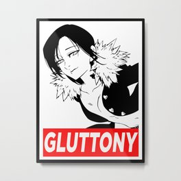 Merlin Sin of Gluttony Metal Print
