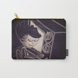 Vintage TV Carry-All Pouch