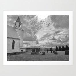 Barrett, Minnesota Art Print