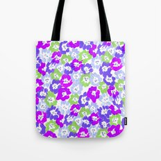 Morning Glory - Violet Multi Tote Bag