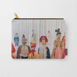 Chinese Marionettes Carry-All Pouch