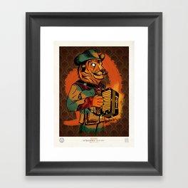 Jefe de Jefes Framed Art Print