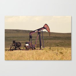 Oil Pump Number 9 Canvas Print