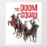 Doom Squad Art Print