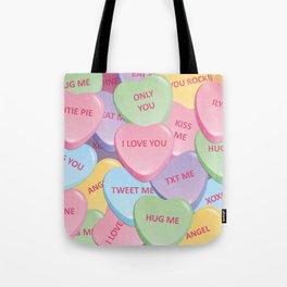 Valentine's candies Tote Bag