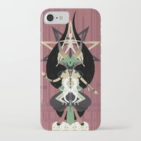 baphomet iPhone & iPod Cases featuring Baphomet by Sparganum