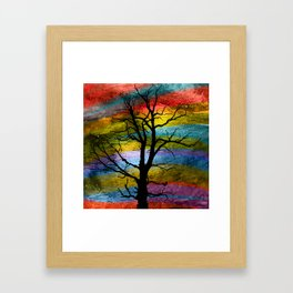 Evening Sky Framed Art Print