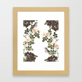 Blackberry Patch Framed Art Print