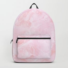 Sugar Pink Marble Backpack