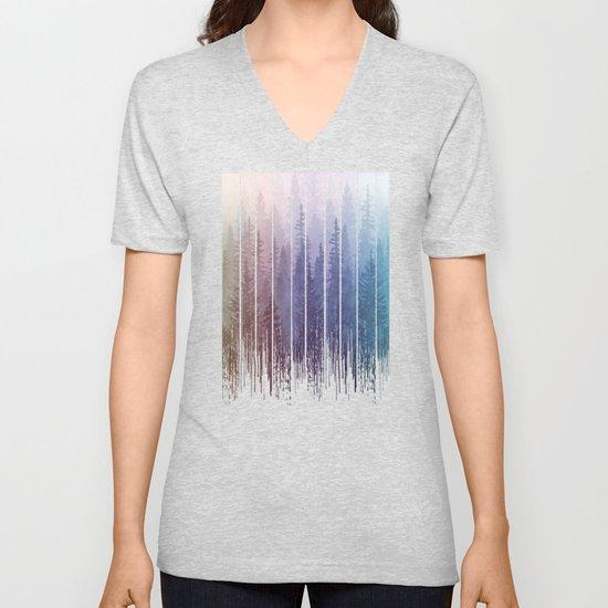 Grunge Dripping Rainbow Misty Forest by maryedenoa