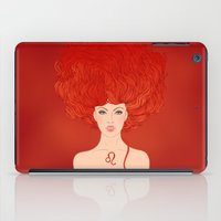 zodiac iPad Cases featuring Zodiac Leo by Varvara Gorbash