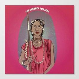 The Dahomey Amazons Canvas Print