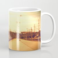 finland Mugs featuring helsinki (finland) - railway station by aune