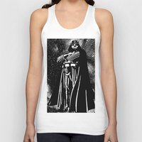 vader Tank Tops featuring Vader by Saundra Myles