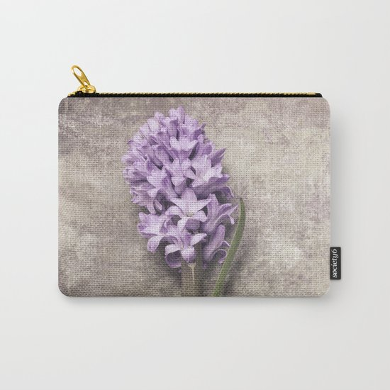 Light Purple Hyacinth Carry-All Pouch