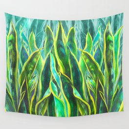 Sansevieria Wall Tapestry