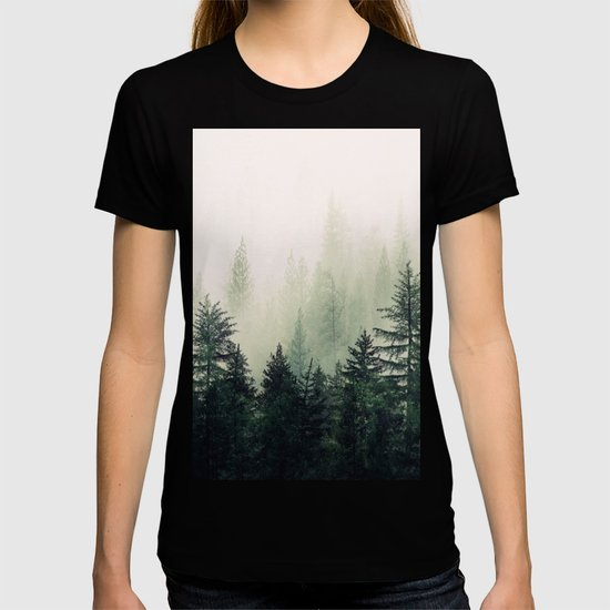 Foggy Pine Trees by andreas12