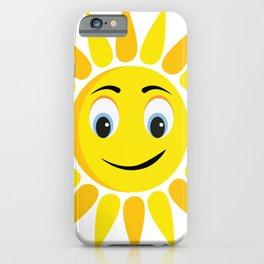 Good Morning Sun - Morning Vibes - Fun & Fresh iPhone Case