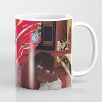 tv Mugs featuring Television by Lerson