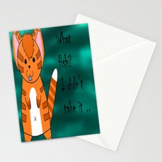 What fish ? Stationery Cards