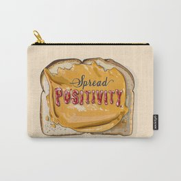 Spread Positivity - Peanut Butter and Jelly on Toast Carry-All Pouch