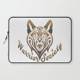Warrior Society (Wolf) Laptop Sleeve