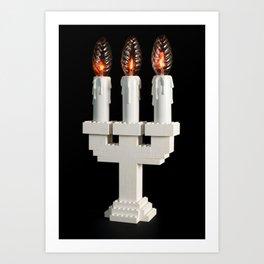 Lego light #1 Art Print