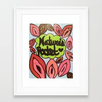 broad city Framed Art Prints featuring Broad City Nature's Pocket Print by Southern Woman's Bookstore