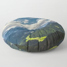 Stunning Julian alps Floor Pillow