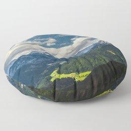 Stunning Julian alps Floor Pillow