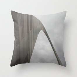 A Gateway to the West Throw Pillow