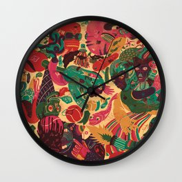 Sense Improvisation Wall Clock