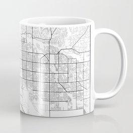 Minimal City Maps - Map Of Tucson, Arizona, United States Coffee Mug