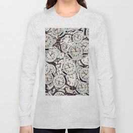 Random Clocks Long Sleeve T-shirt