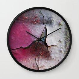 Pink Rumble Wall Clock